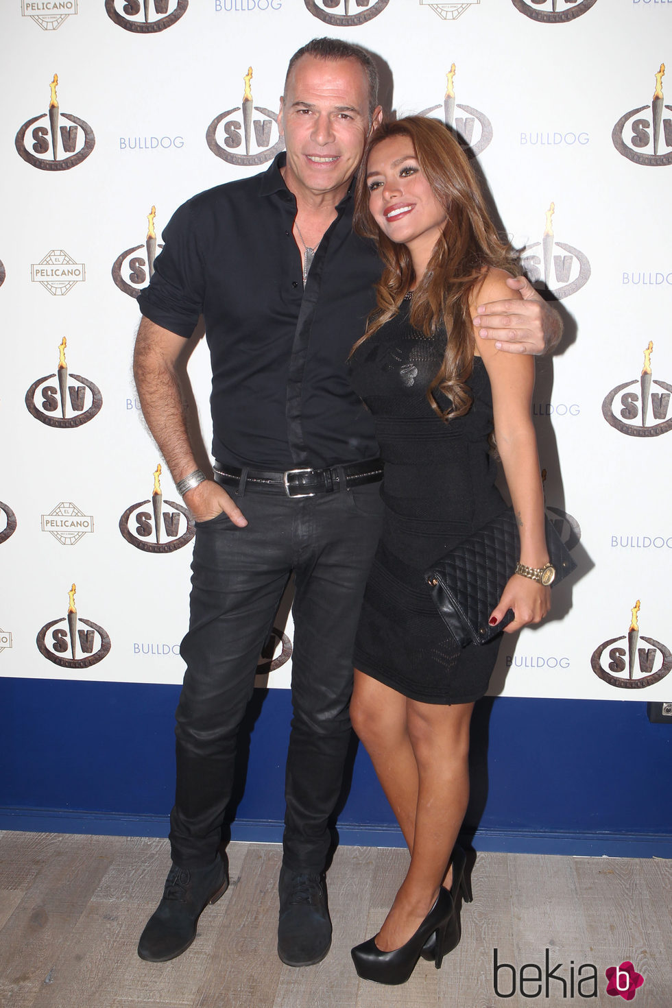 Carlos Lozano y Miriam Saavedra en la fiesta del final de 'Supervivientes 16'