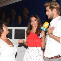 Jorge Díaz, ganador del programa, en la fiesta del final de 'Supervivientes 16'