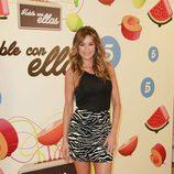 Mónica Martínez en la presentación de la nueva temporada de 'Hable con ellas'