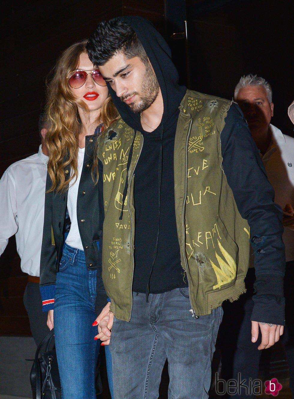Gigi Hadid y Zayn Malik de paseo en Nueva York