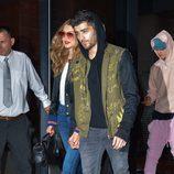Zayn Malik y Gigi Hadid pasean por la ciudad de Nueva York