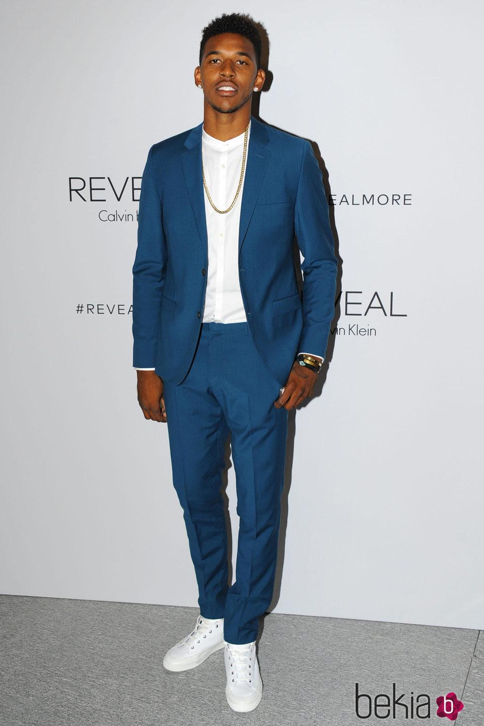 Nick Young en la presentación del perfume 'Calvin Klein Reveal' en Nueva York
