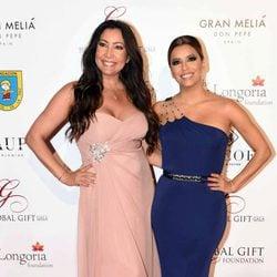 Eva Longoria y María Bravo en la Global Gift Gala 2016 celebrada en Marbella