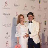 Olivia de Borbón y Julián Porras en la Global Gift Gala 2016 celebrada en Marbella