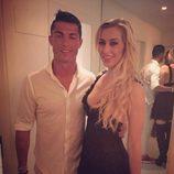 Cristiano Ronaldo y la presentadora alemana Verena Kerth