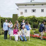 Carlos Felipe de Suecia va a buscar a Leonor de Suecia ante el asombro de la Familia Real Sueca en Solliden