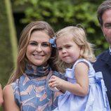 Magdalena de Suecia y su hija Leonor en el posado de verano de la Familia Real Sueca en Solliden