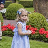 Leonor de Suecia en el posado de verano de la Familia Real Sueca en Solliden