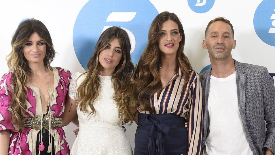 Sara Carbonero, Dulceida, Madame de Rosa y Cristo Báñez en la presentación de 'Quiero ser'