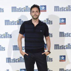 David Guapo en el preestreno de la película 'Mascotas' en Madrid