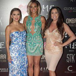 Eva Longoria, Alesha Dixon y María Bravo en Ibiza