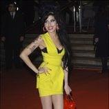 Amy Winehouse en los Premios BRIT 2007