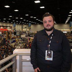 John Bradley en la firma de 'Juego de Tronos' durante la Comic-Con 2016