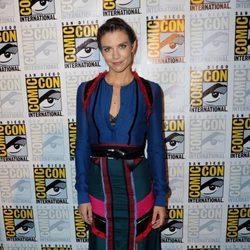 Lauren Cohan en la presentación de la séptima temporada de 'The Walking Dead' en la Comic-Con 2016