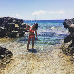 Ares Teixidó luciendo tipazo en bikini en Ibiza