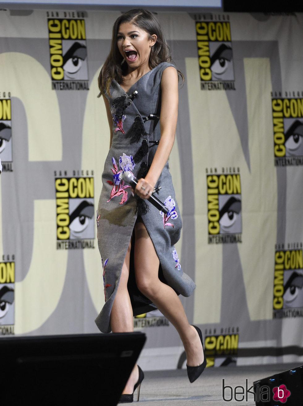 Zendaya en la Comic-Con de San Diego 2016