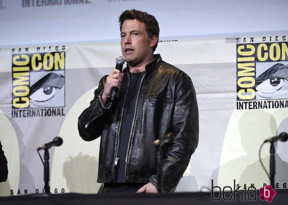 Ben Affleck en la Comic-Con de San Diego 20