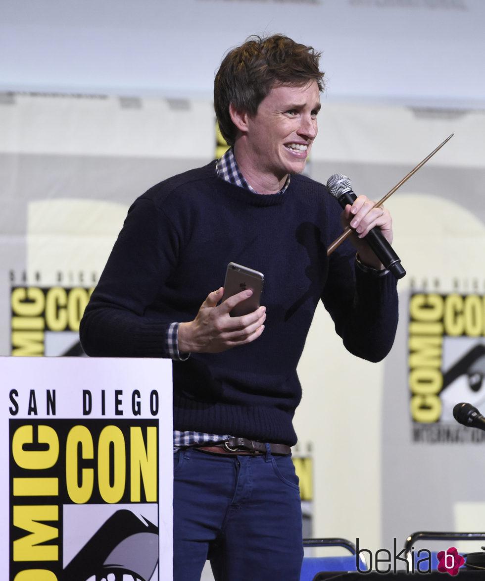 Eddie Redmayne en la Comic-Con de San Diego 2016