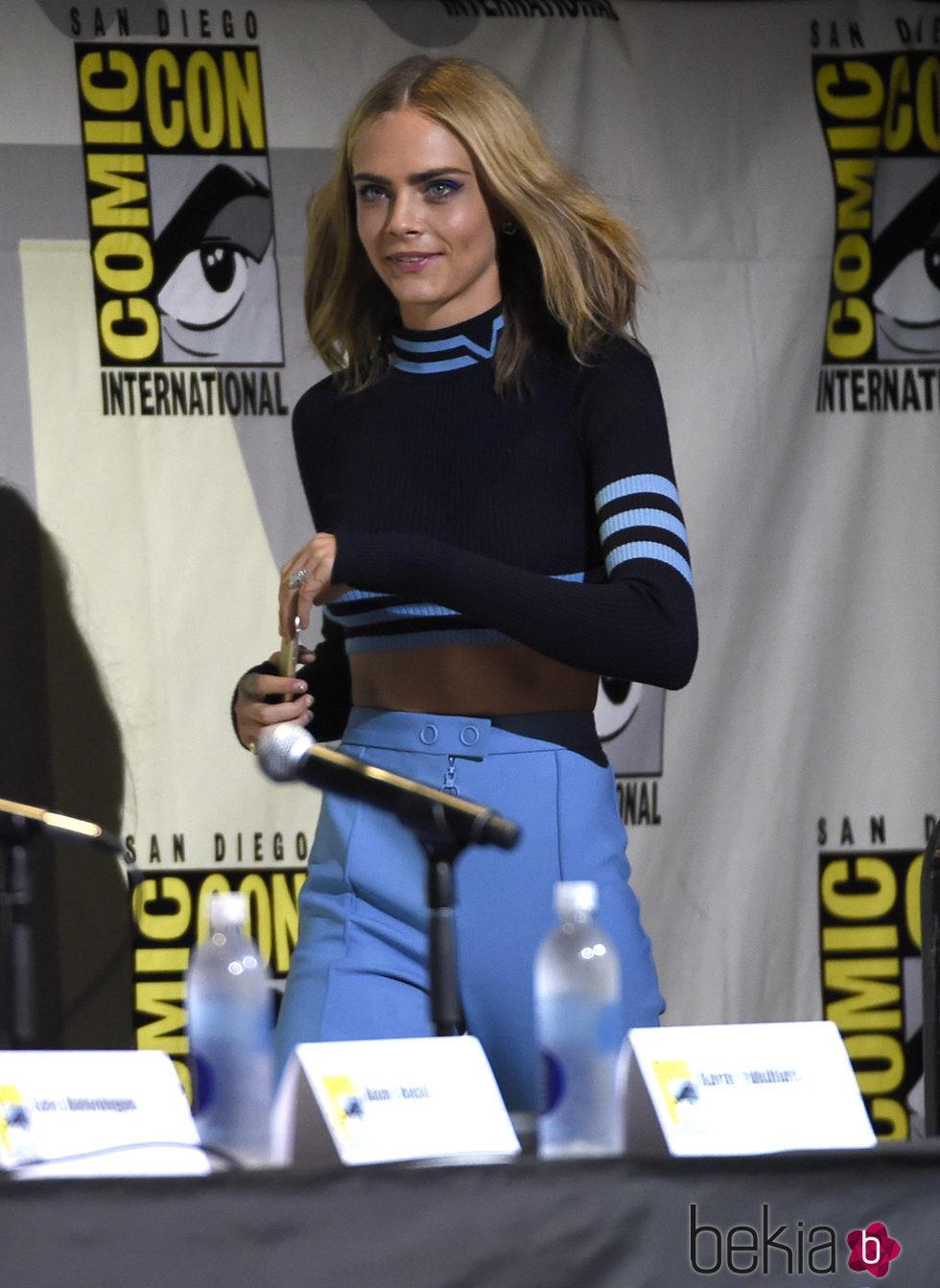 Cara Delevingne en la Comic-Con de San Diego 2016