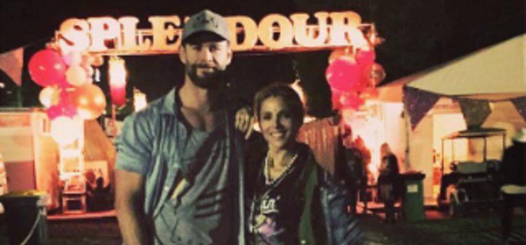 Elsa Pataky y Chris Hemsworth en el Splendour Festival 2016