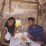 Sofía Suescun y Hugo Paz compartiendo una velada romántica
