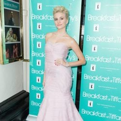 Pixie Lott en la noche de prensa de la obra 'Breakfast At Tiffany's'