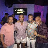Suso y Rafa Mora de fiesta en Ibiza