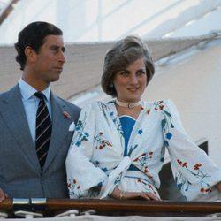 El Príncipe Carlos y Lady Di en su luna de miel