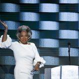 Joyce Betty en la Convención Demócrata de Hillary Clinton