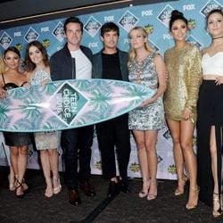 El casting de 'Pretty Little Liars' en los Teen Choice Awards 2016