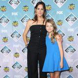 Jennifer Garner y Kylie Rogers en los Teen Choice Awards 2016