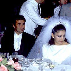 Isabel Pantoja y Francisco Rivera 'Paquirri' el día de su boda