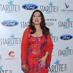 Ángela Carrasco en la Gala Starlite 2016