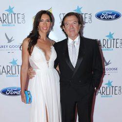 Pepe Navarro y Lorena Aznar en la Gala Starlite 2016