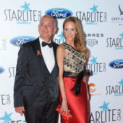 Sandra Ibarra y Juan Ramón Lucas en la Gala Starlite 2016