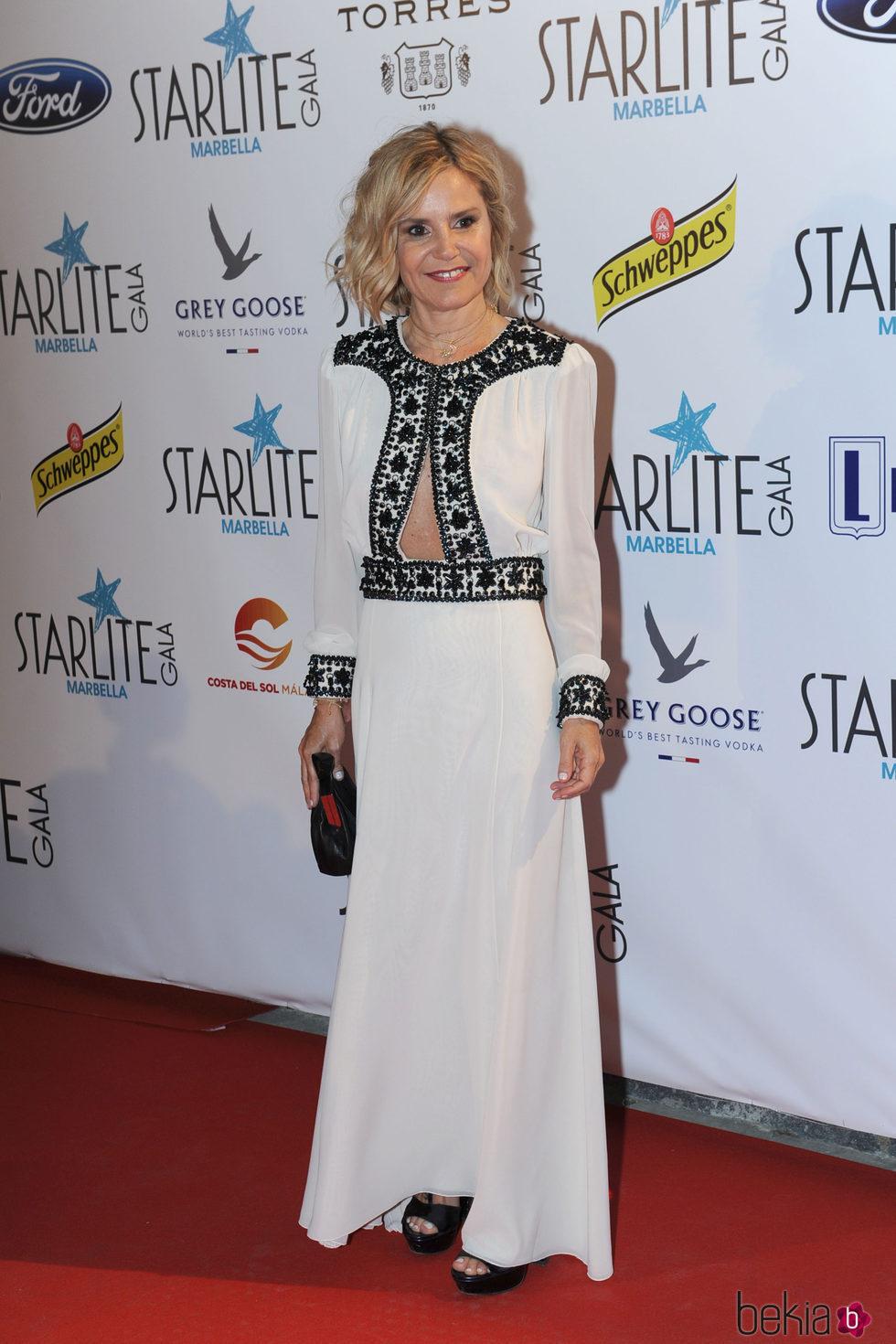 Eugenia Martínez de Irujo en la Gala Starlite 2016