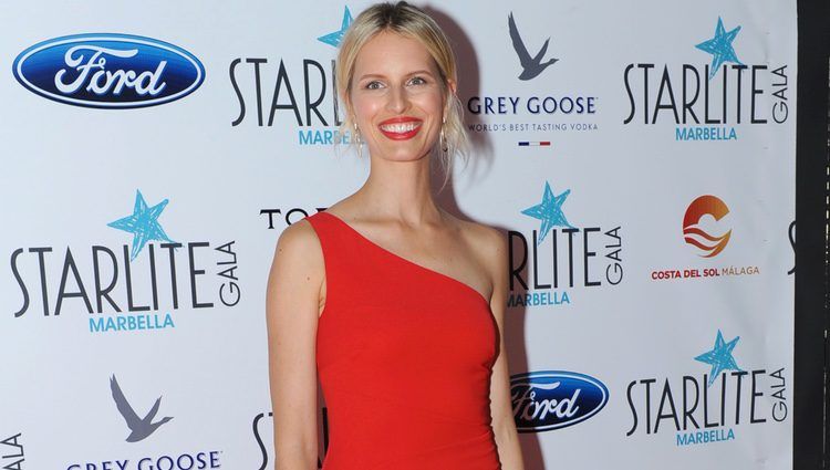 Karolina Kurkova en la Gala Starlite 2016