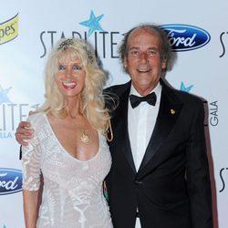 Gunilla Von Bismarck y su marido Luis Ortiz en la Gala Starlite 2016