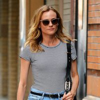 Diane Kruger paseando por la ciudad de Nueva York