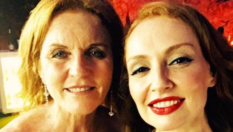 Cristina Castaño y Sarah Ferguson en el Starlite Festival de Marbella