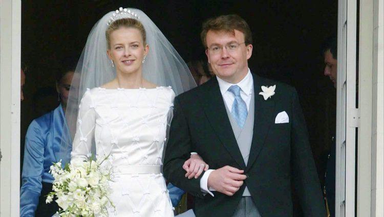 Friso de Holanda y Mabel Wisse Smit en su boda