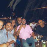 Luis Rollán, Raquel Bollo, Kiko Rivera, Irene Rosales y Anabel Dueñas de fiesta por Ibiza