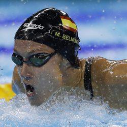 Mireia Belmonte en la carrera de 200 metros mariposa en Rio 2016