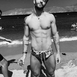 Pelayo Díaz presume de torso en Mykonos