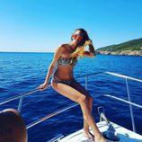 Irene Rosales de vacaciones por Ibiza