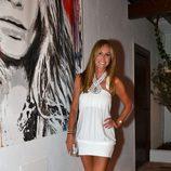 Lara Dibildos durante una fiesta en Marbella