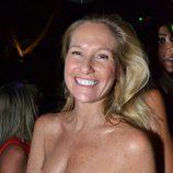 Fiona Ferrer durante una fiesta en Marbella