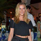 Anna Barrachina durante una fiesta en Marbella