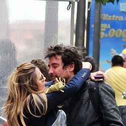 Norma Ruiz y José Manuel Seda muy cariñosos en Madrid