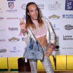 Aless Gibaja en la fiesta 'Infancia sin fronteras' en Marbella